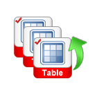 select tables to export
